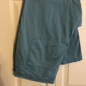 NYDJ light teal blue capris